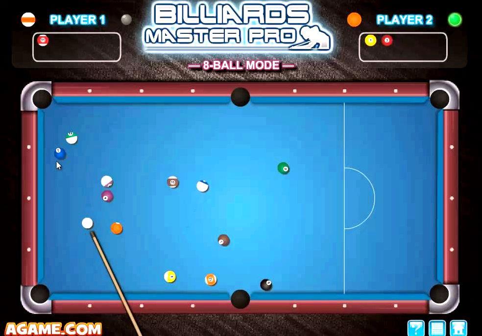Бильярд играть бесплатно онлайн на двоих