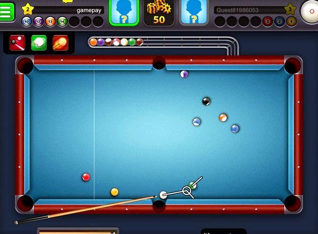 Бильярд онлайн 8 ball pool играть