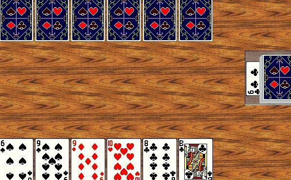 Подкидной дурак durak card game карточная игра в дурака на