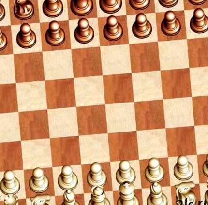 Флеш игра в шахматы с компьютером