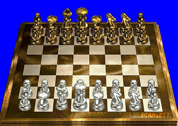 Игра шахматы настоящие