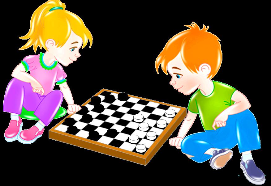 Играть в шашки для детей