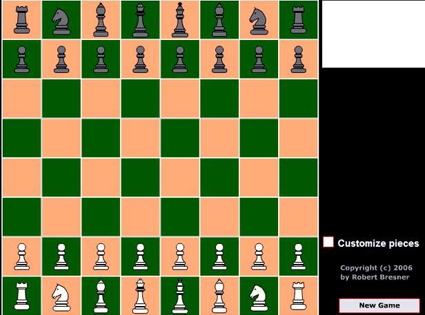 Игры шахматы на двоих играть