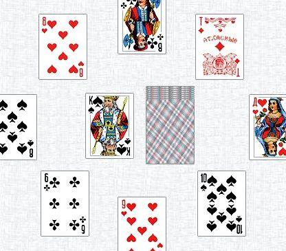 Карточный дурак правила