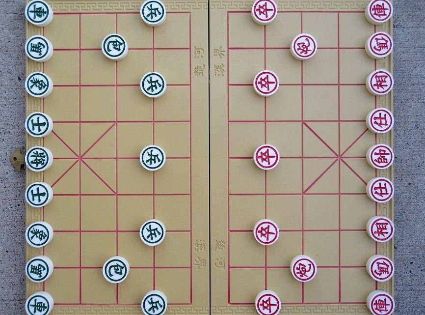Китайские шахматы правила