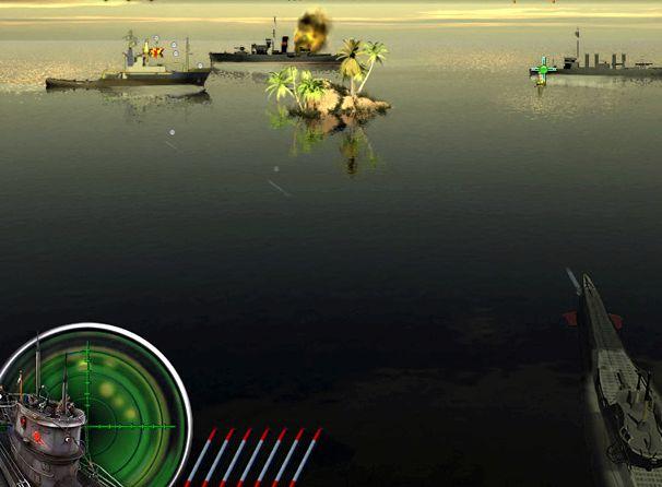Морской бой игра подводная война