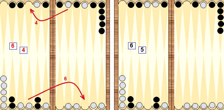 Нарды длинные тактика игры