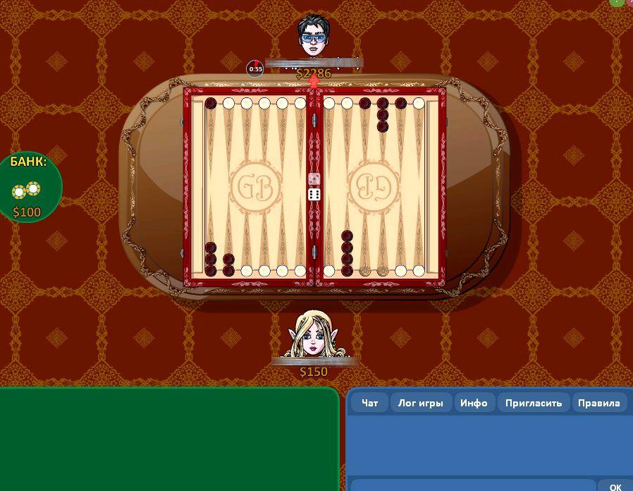 Нарды играть на 2 игрока