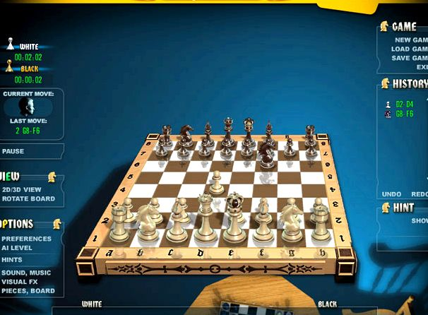 Настоящие шахматы играть