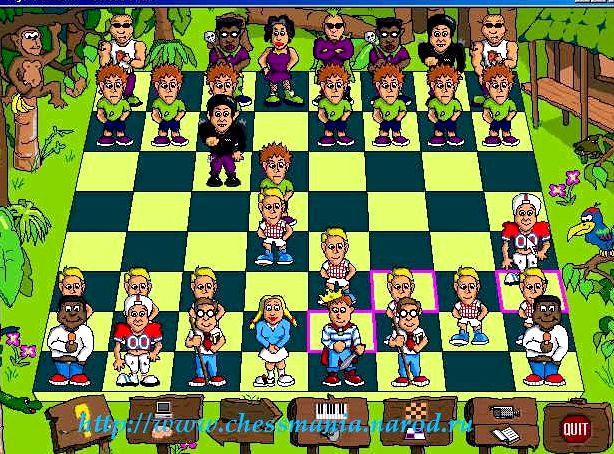 Обучающая игра в шахматы