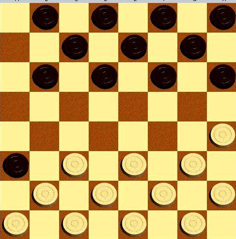 Русские шашки с компьютером онлайн