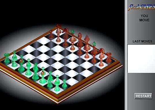 Шахматы с компьютером во весь экран