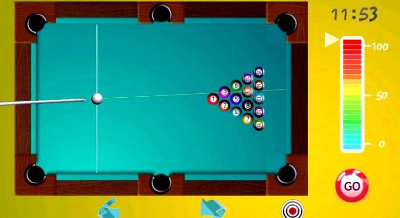 Бильярд играть бесплатно онлайн во весь экран