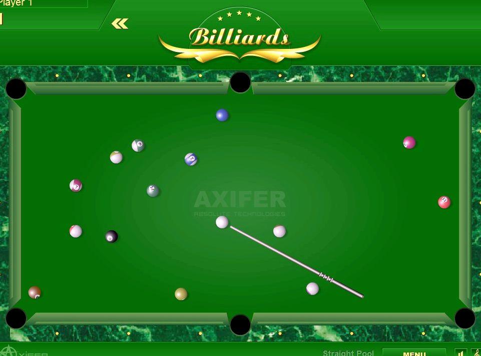 Бильярд играть онлайн бесплатно