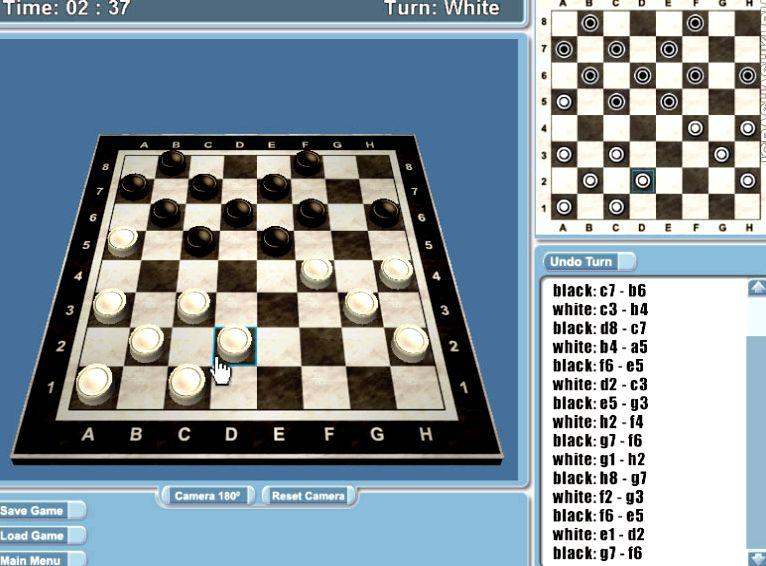 Игра шашки 3д скачать
