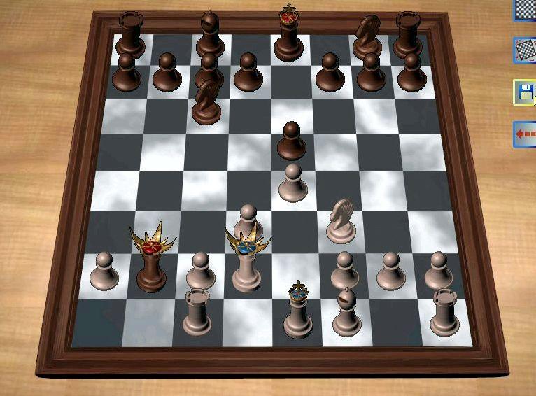 Игра в шахматы на русском