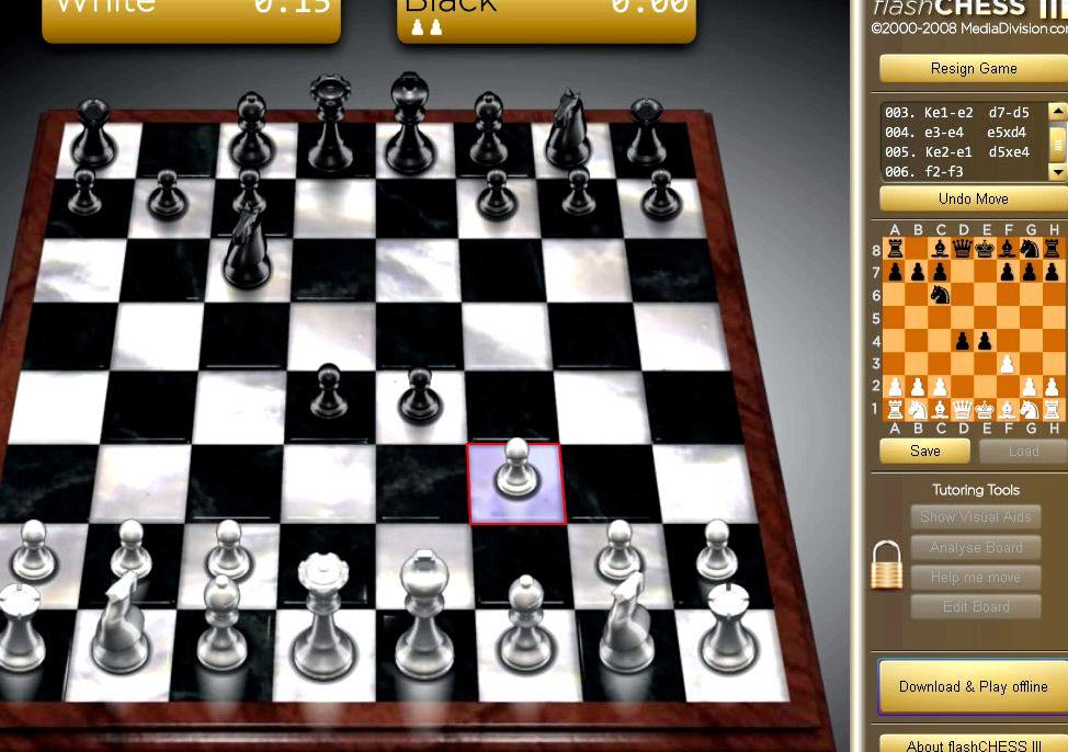 Игра в шахматы с компьютером бесплатно