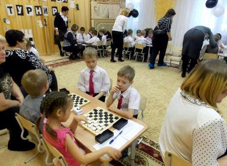 Игра в шашки для детей 5 лет