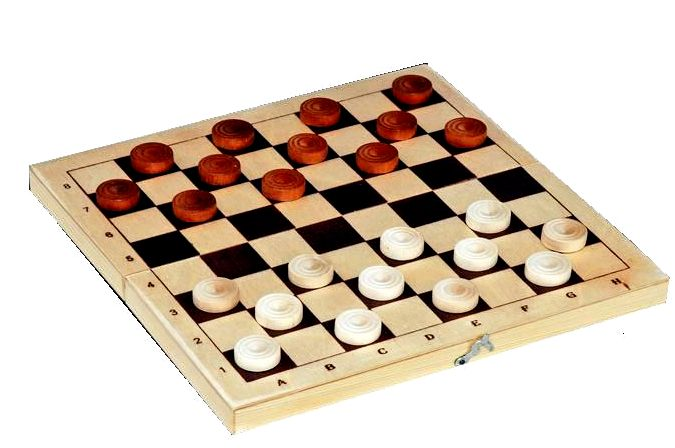 Игра в шашки для начинающих