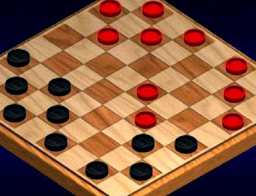 Играть шашки на 2 игрока