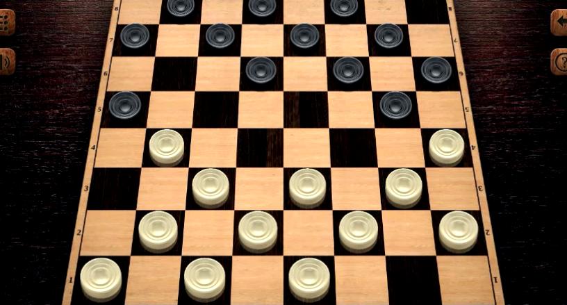 Игры шашки на 2 игрока