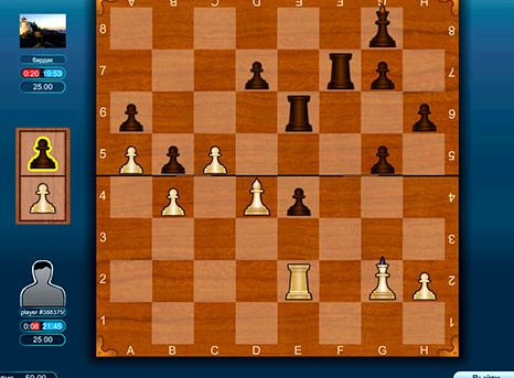 Онлайн игра в шахматы с живыми игроками