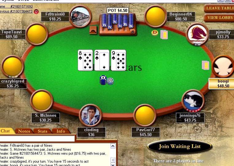 Покер старс онлайн бесплатно