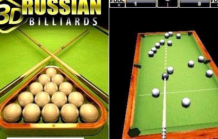 Русский бильярд 3d
