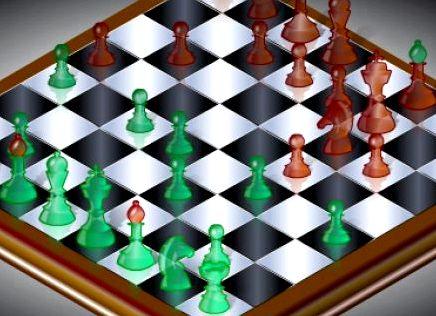 Шахматы 3d на двоих