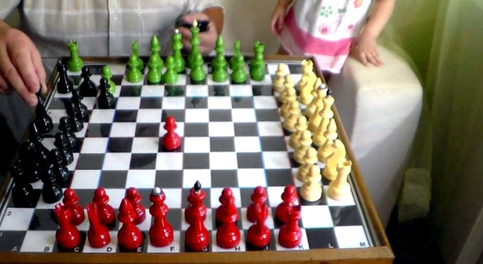 Шахматы на 4 игрока