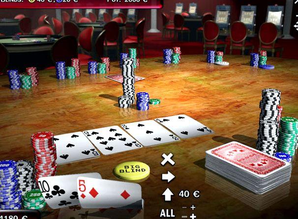 Texas holdem poker играть